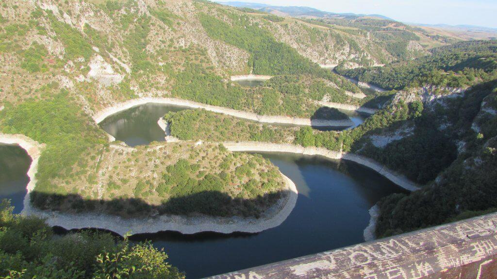 Pogled na kanjon Uvca