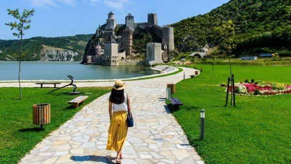 Golubac fortress tour